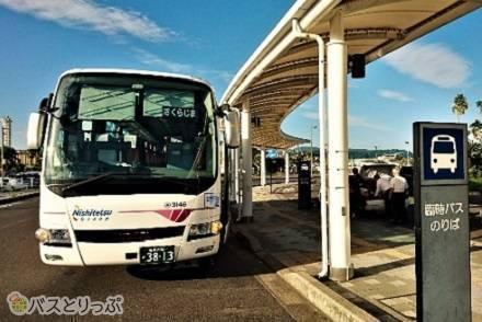 西鉄天神高速バスターミナルはデザインが素敵! 福岡~鹿児島、西鉄高速バス「桜島号」乗車記