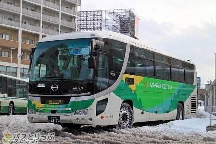 雪景色を眺めながら青森へ! 高速バス「ブルーシティ号」で仙台から昼行便の旅