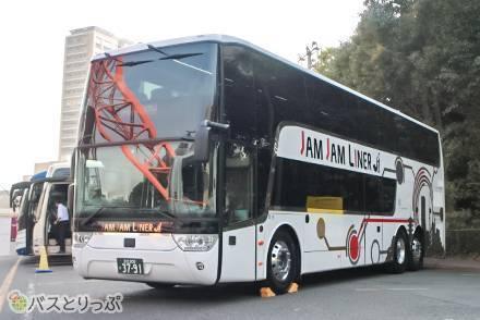 ジャムジャムエクスプレスの新型二階建てバス「アストロメガ」に試乗! 二階からの眺めや乗り心地は?