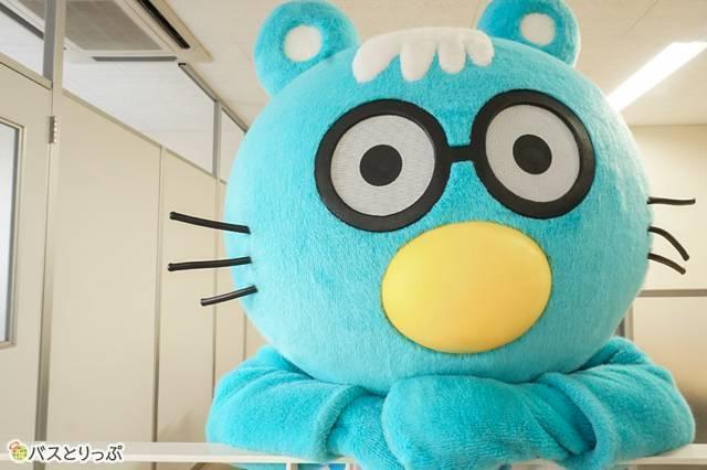 九州産交バスの公式キャラクター「産太くん」