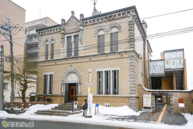 啄木と賢治に関する展示があり、建物自体も国指定重要文化財の「もりおか啄木・賢治青春館」