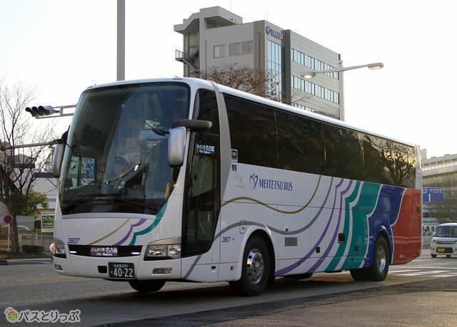 名鉄バスの車両外観