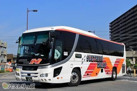 全車両3列独立シートでカーテン付き&トイレあり! 南海バスの夜行バス「サザンクロス」の車内設備と運行路線を詳しく紹介!
