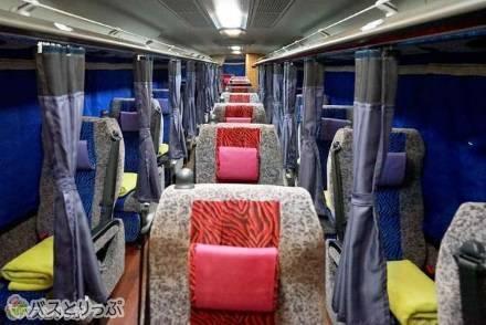 3種類のシートと車内設備について比較解説! 大阪と京都・名古屋・東京などを結ぶ「大阪バス」の車両紹介