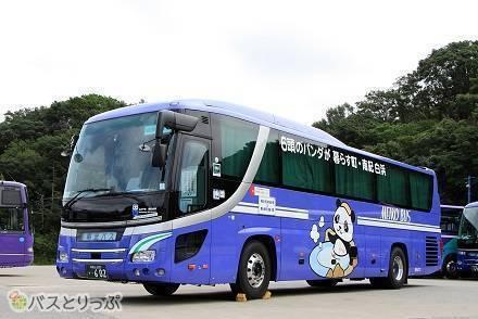 パンダの3列独立シート夜行バスで直行! 東京~南紀白浜間を結ぶ明光バス「ホワイトビーチシャトル」乗車記