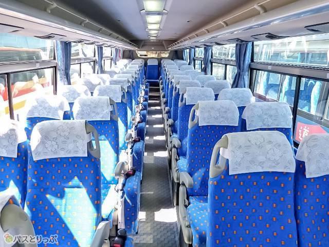4列シート座席