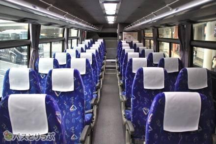 仙台・福島発着の路線で運行。JRバス東北の4列シート車両の設備・サービスを紹介