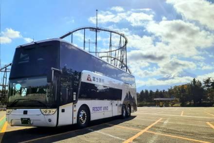 富士急グループ初「新宿~富士五湖線」に2階建てバス導入! ボディには北斎の富士をデザイン