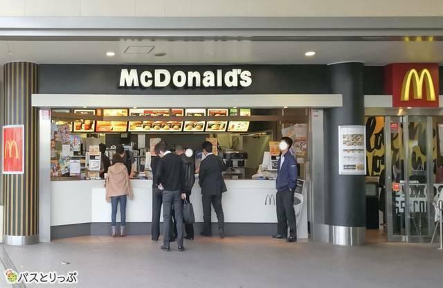 マクドナルド 高輪ウイング店