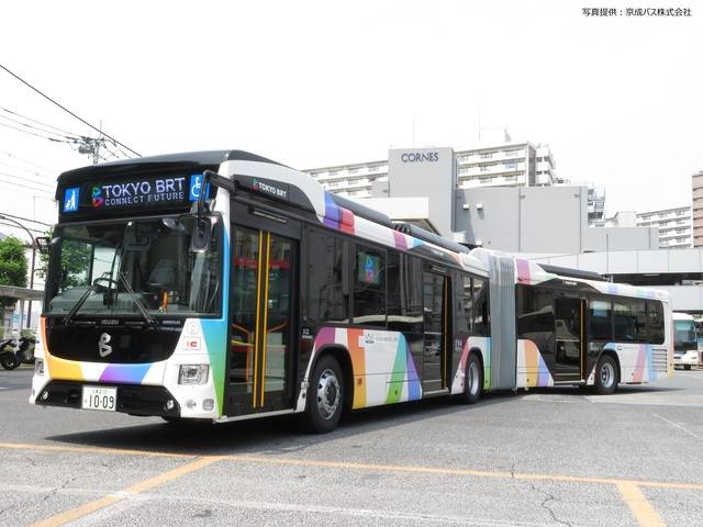 京成バス 東京BRT連節バス