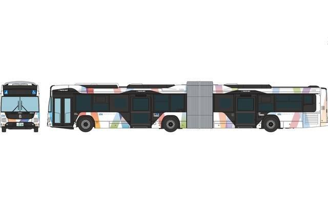 東京BRT連節バス