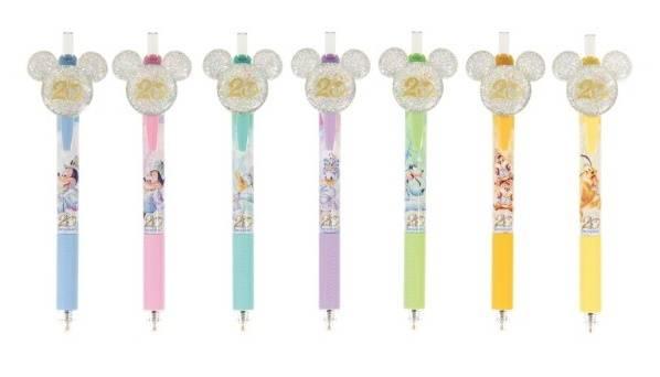 ボールペン〈エナージェル〉セット2,800円(c)Disney
