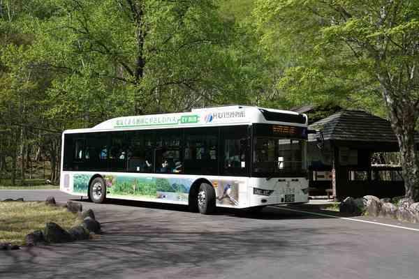 中国製電気バス・アルファバスECITY L10
