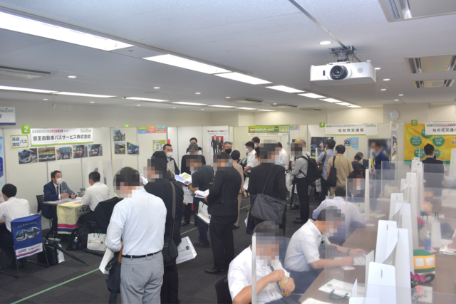 『どらなびEXPO2021夏』会場内の様子.png